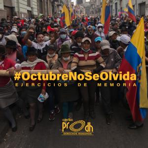 Más de 15.000 indígenas de todo el país llegaron a Quito para protestar de forma pacífica. Entre hombres, ancianos, mujeres y niños.